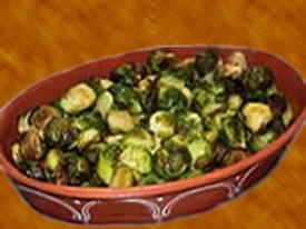 Brussels sprouts fry